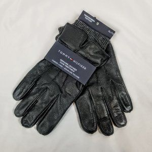 Tommy Hilfiger Men's XL Leather Gloves w. Touch